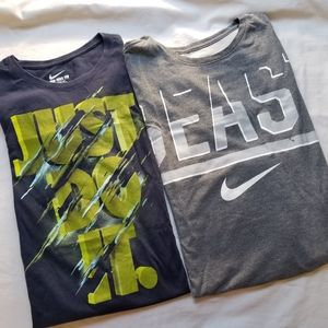Nike Men's T-shirt bundle lot of 2 size XL